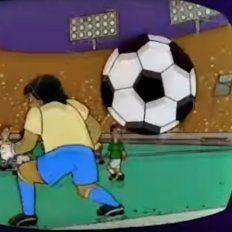¿Los Simpson predicen la final del Mundial?