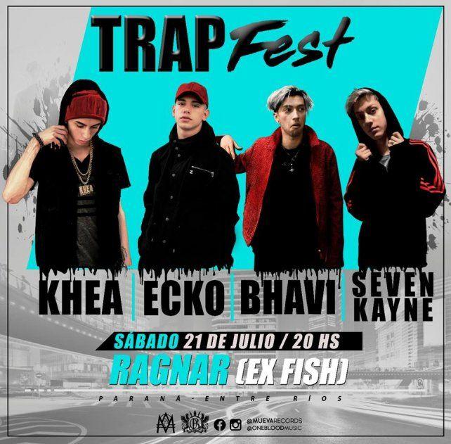Llega el Trap a Paraná