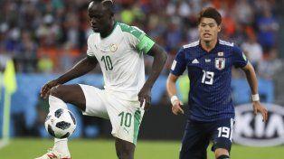 Japón y Senegal igualaron en un partidazo por el grupo H