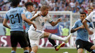 Uruguay y Rusia comenzaron este encuentro con 6 unidades.