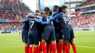 El equipo francés tiene 6 puntos y Dinamarca lo sigue con 4.