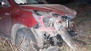 Violento choque en ruta 18: un conductor internado con lesiones graves
