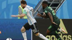 Campeón.Messi abrió la cuenta en San Petersburgo