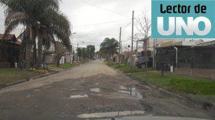 Intransitable. CalleBevilacqua y Geller de ParanáEn calle Bevilacqua y Geller