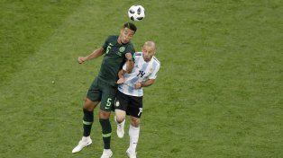 Nigeria golpeó en el inicio de la segunda etapa.