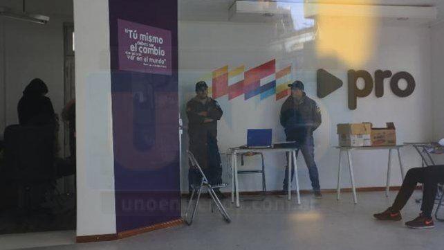 De la oficina y casa de Gainza secuestraron celulares, anotaciones y una computadora
