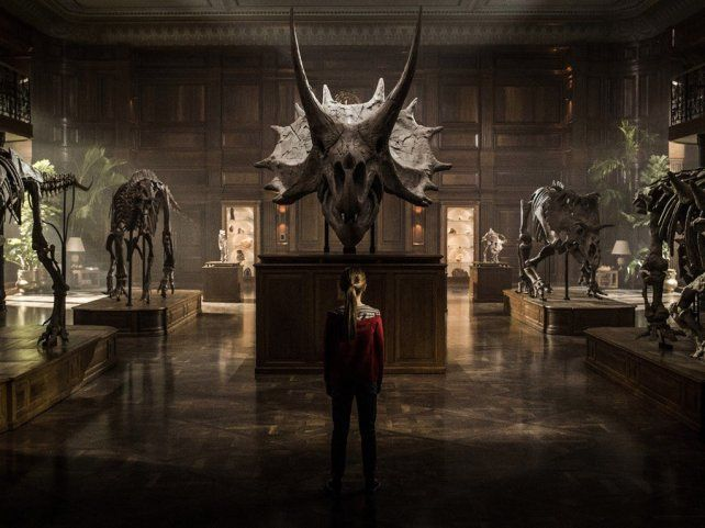 <b>Película.</b> Jurassic World: El reino caído
