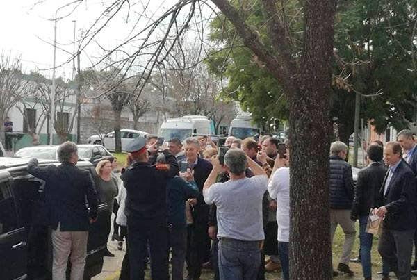 Macri inauguró un NIDO en Basso