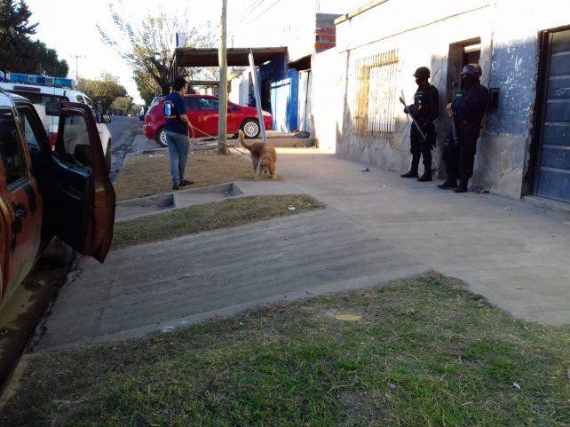 Venta al menudeo. La investigación la llevó adelante la Dirección de Toxicología de la policía. Foto: Radio La Voz.