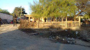 Nueve requisas. Los allanamientos fueron en el Volcadero y barrios aledaños. Foto: Radio La Voz.