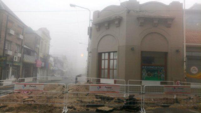 En Paraná no se ven los edificios a menos de 100 metros.