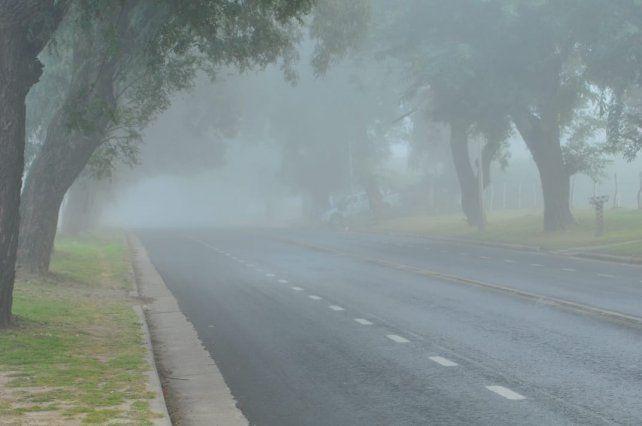 Avenida Almafuerte hoy a la mañana.