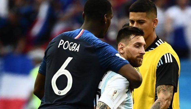 El 6 de francia con el 10 argentino.