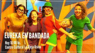 La payasa Eureka llega con su espectáculo musical Eureka en bandada