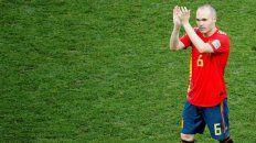 Punto final de Iniesta en el seleccionado español.