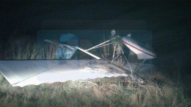 Entrerriano probaba una avioneta que había comprado y se precipitó a tierra