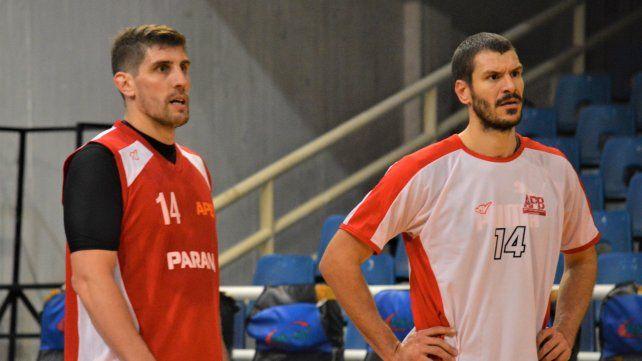 Daniel Hure y Baltazar Claudé