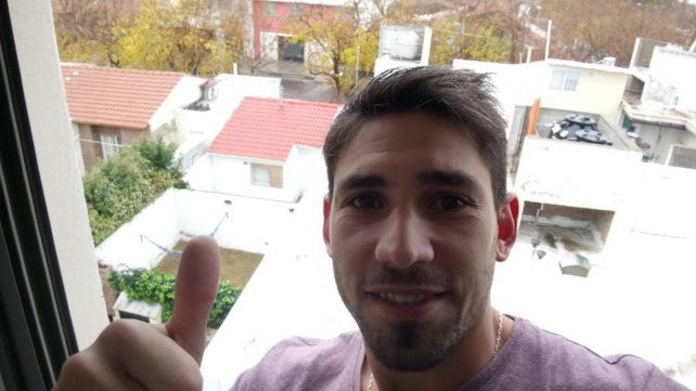 Márquez desde el hotel en Mendoza a la espera de firmar el contrato
