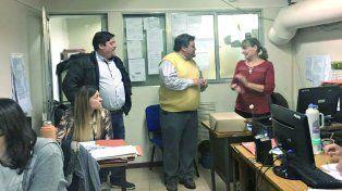 Fabián Monzón y Lino Sapetti serán los candidatos de la Lista 10 Azul y Blanco de UPCN.
