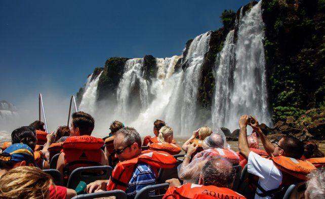 Cataratas acumula récord de visitantes