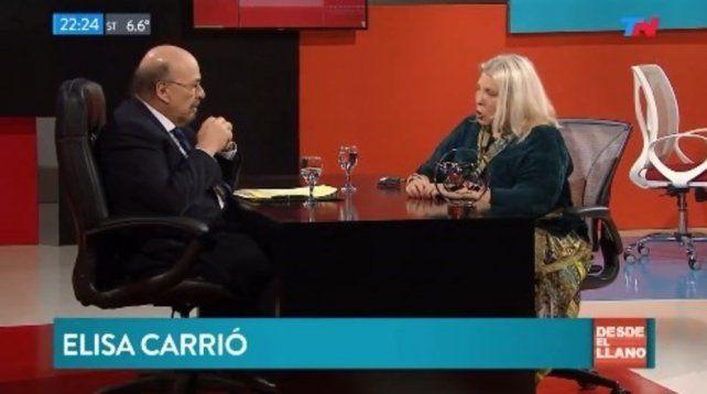 Elisa Carrió le pidió un esfuerzo más a la clase media y estallaron las redes