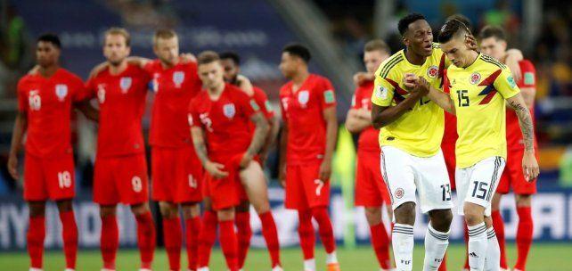 Los penales clasificaron a Inglaterra