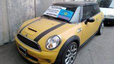 Mini Cuper. El auto de alta gama fue recuperado en Córdoba.