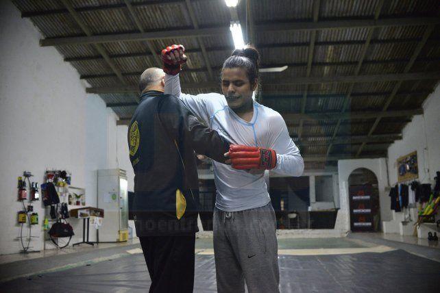 Sergio Zanotta trabajando junto a Leo Larrosa FotoUNOMateo Oviedo