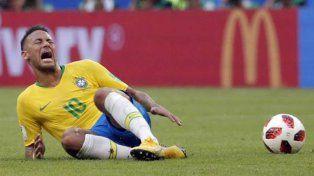 El delantero brasileño ha sido objeto de parodias por sus exageraciones
