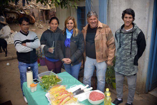 <b>Comisión. </b>Miguel López, Sonia Franco, Mariana Ríos, José Luis Godoy y Brian José Alberto