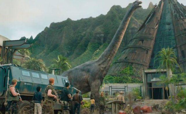 Película.  Jurassic World: el reino caído,<strong> </strong>la quinta parte de la saga jurásica