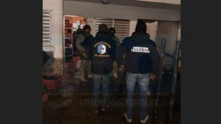 En múltiples allanamientos detuvieron a 14 personas y secuestraron estupefacientes