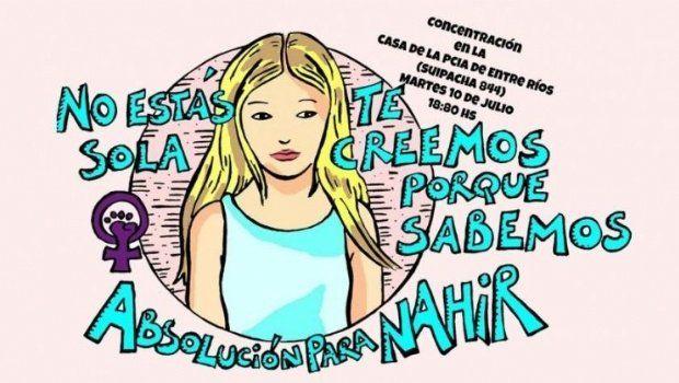 La convocatoria. El martes se pide la asistencia frente a la Casa de Entre Ríos