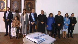 Desde Tucumán, Macri pidió superar la tendencia de ver todo mal