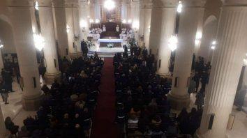 la iglesia dio un fuerte discurso contra el aborto en el tedeum de tucuman