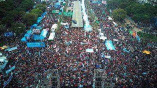 Día de la Independencia, opositores se movilizaron para afirmar que La Patria no se rinde