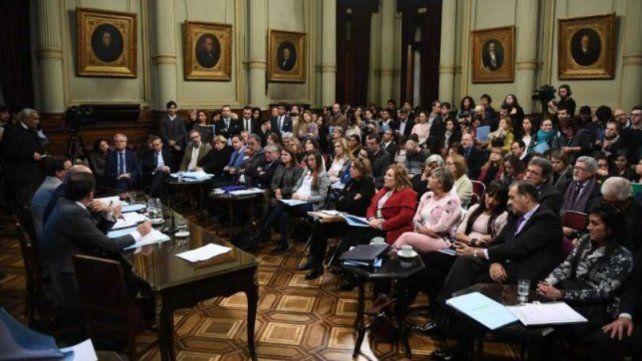 Arranca el debate de la Ley de Aborto legal, seguro y gratuito, en el Senado