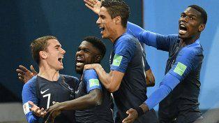 Francia es finalista en Rusia 2018