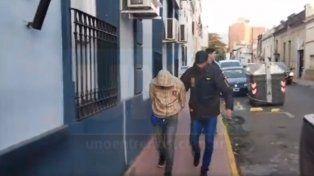 El autor. El acusado de disparar el arma de fuego fue detenido en la tarde de este martes. Foto: Javier Aragón.