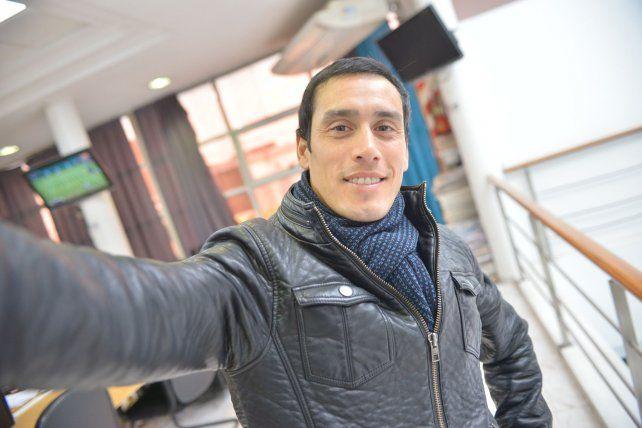 La selfie: Maxi Falcón