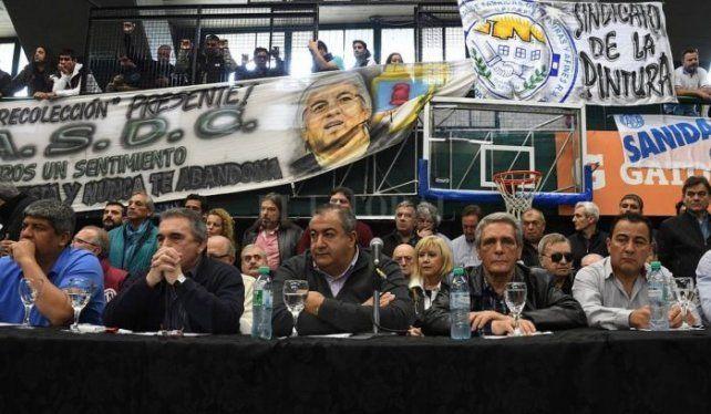 Se reúne la CGT para suspender sus elecciones internas y prorrogar la permanencia del Triunvirato