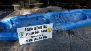Dos pibes se robaron un Kayak