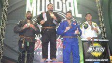 una gran representacion en el mundial de jiu jitsu