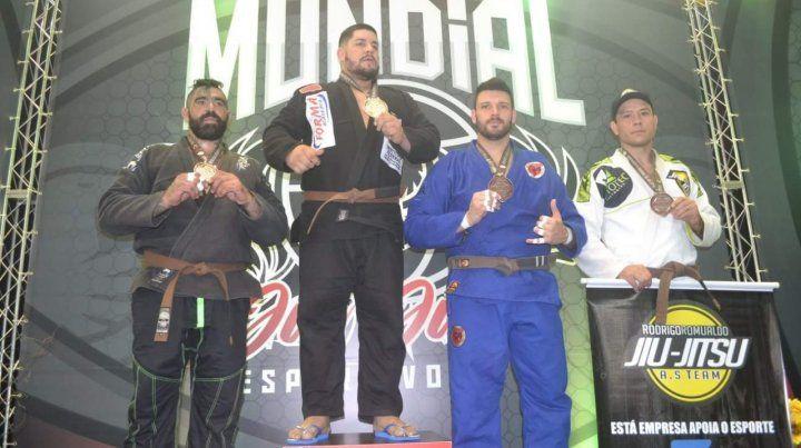 Una gran representación en el Mundial de Jiu Jitsu