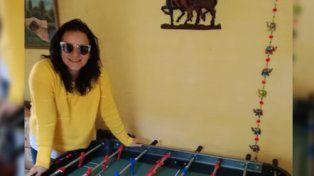 Priscila ya disfruta el metegol de UNO y Creser