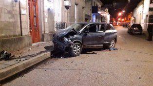 Un violento choque con una persona fallecida y varios heridos