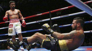 Matthysse no pudo contener a Pacquiao y se quedó sin cinturón