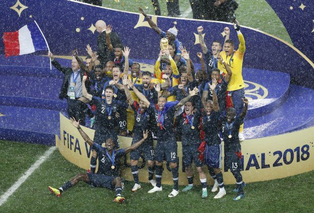 Los festejos del campeón del mundo en imágenes