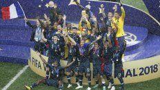 los festejos del campeon del mundo en imagenes