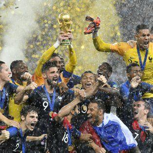 Francia, campeón del mundo en Rusia 2018